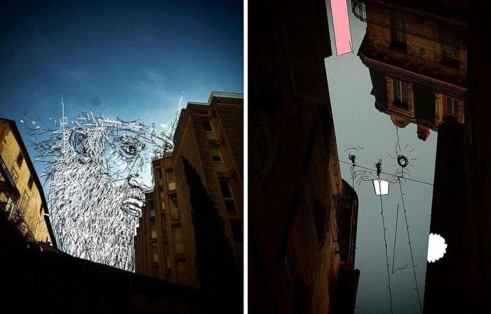 Картинки Thomas Lamadieu, нарисованы в программе Microsoft Paint