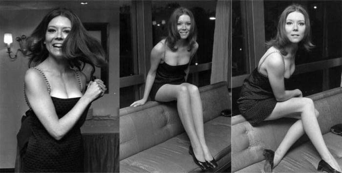 Молодая Диана Ригг, еще до того, как стала Оленной Тирелл.