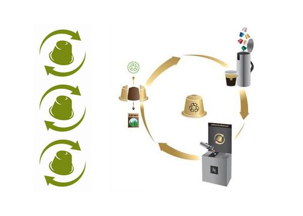 Отработанные кофейные капсулы используют для производства удобрений