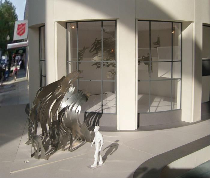 «UPLIFT» - новая работа американской художницы Мии Перлман