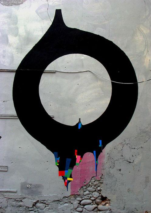 Стрит-арт от Guido Bisagni