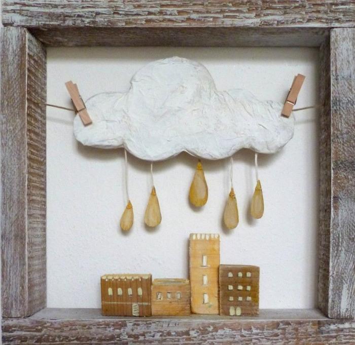 Очарование маленького городка в картонных миниатюрах от итальянской художницы