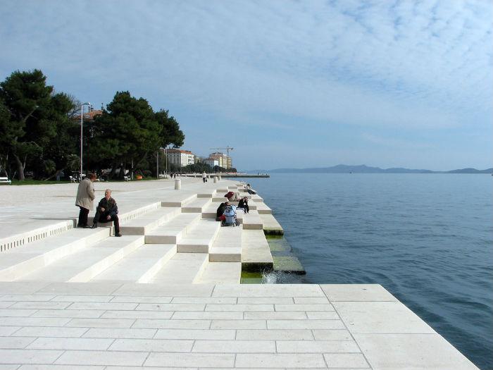 Морской орган (Morske orgulje) - интерактивная инсталляция архитектора из Хорватии