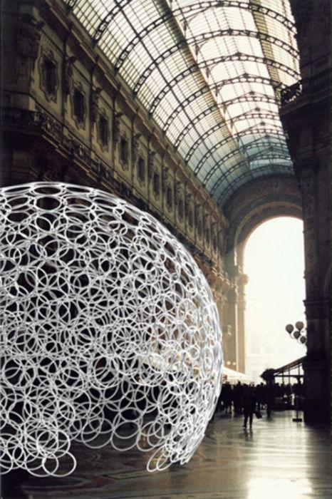Временный павильон Минсука Чо в Милане