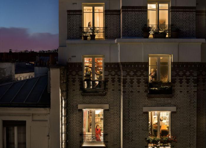 Интригующий фотопроект о жизни парижан от Гейл Халабан
