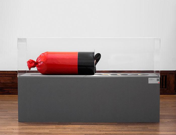 Любопытный арт-объект дизайнера и музыканта Дэвида Ринмана.