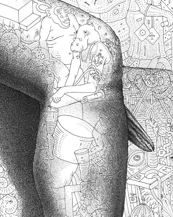 Потрясающая детализация в иллюстрациях художника из Армении