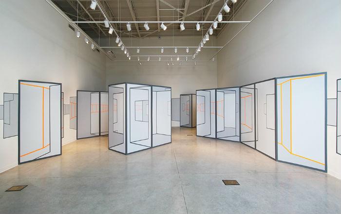 Каждый проект мастер начинает с обязательного посещения места, где будет размещена инсталляция