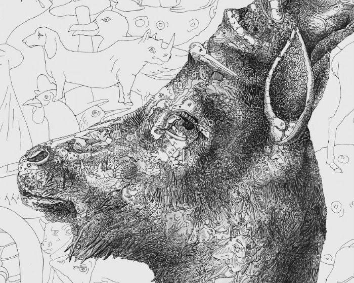 Потрясающие психоделичные иллюстрации Давита Юханяна