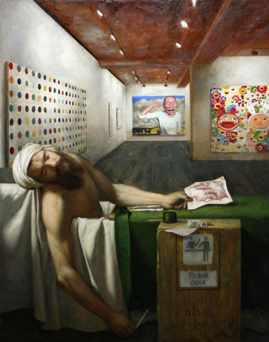 A David. Одна из работ серии «Syncretism»  от американского художника