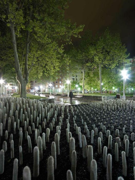 Проект нидерландского дизайнера был впервые представлен в 2009 году в рамках городского садового фестиваля в испанском городе Бильбао