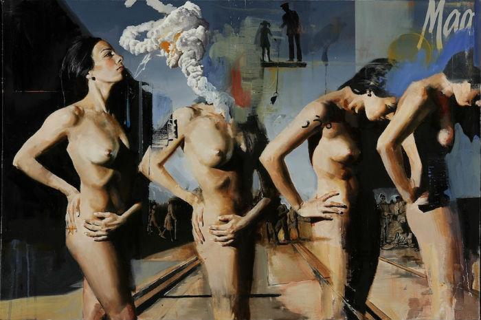 Любопытные работы американского живописца  Адама Колдуэлла