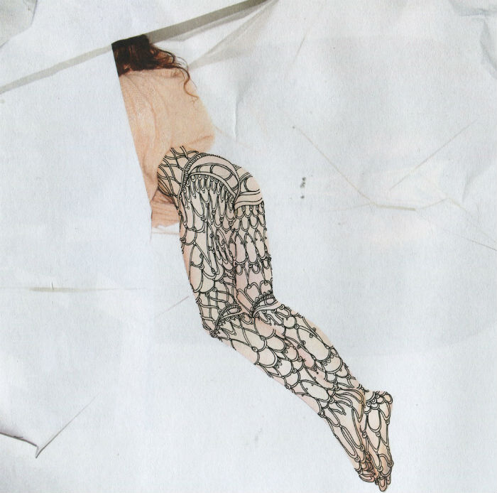 Работы американской художницы Аланы Ди Хайнес