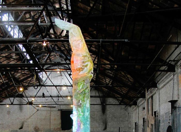 Рукотворные сталагмиты: любопытные скульптуры американской художницы