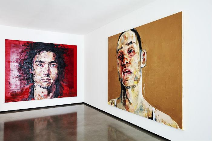 Абстрактно-фигуративная живопись Сальгадо выглядит свежо, смело и неординарно