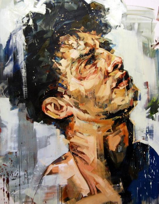 В работах Сальгадо поражает триумф цвета, а метафоричность и глубина образов приковывают внимание