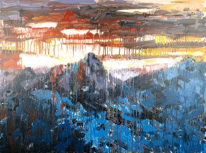 Крисси Энлайкер (Chrissy Angliker) создает удивительные полотна.