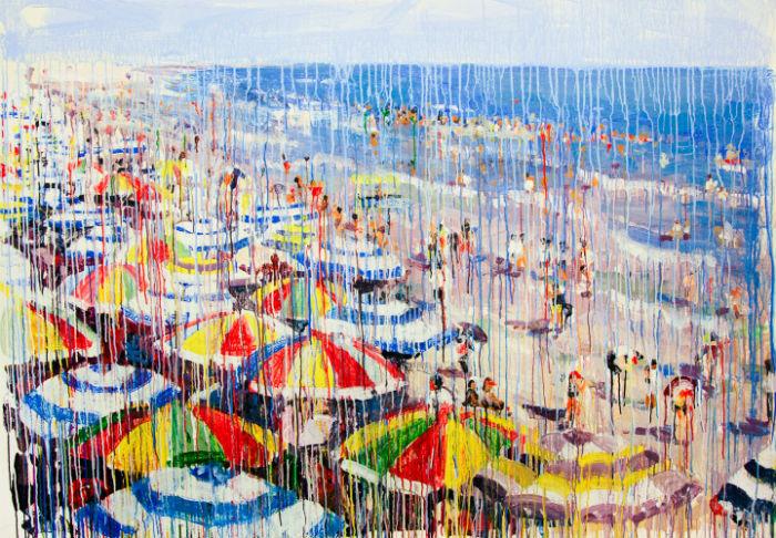 Удивительная живопись от швейцарской художницы