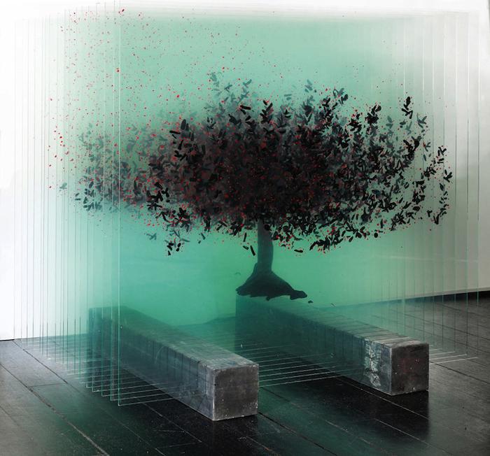 Удивительные композиции от турецкой художницы Ардан Озменоглу