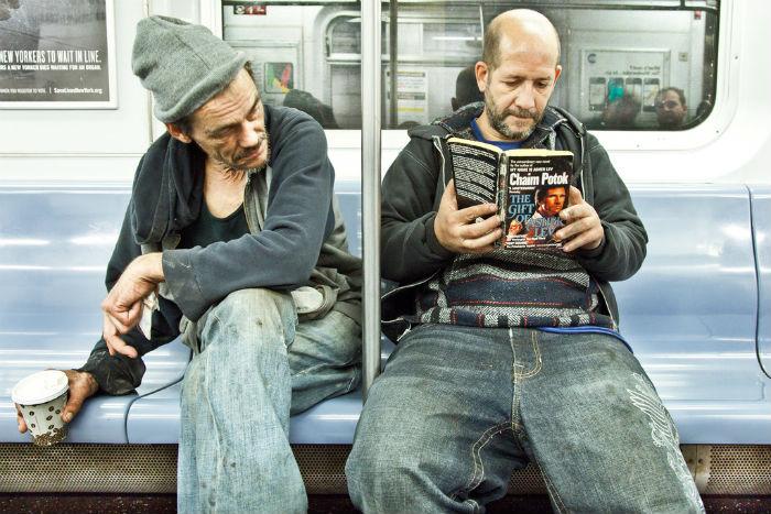 «The Underground New York Public Library». Хаим Поток «Дар Ашера Лева»
