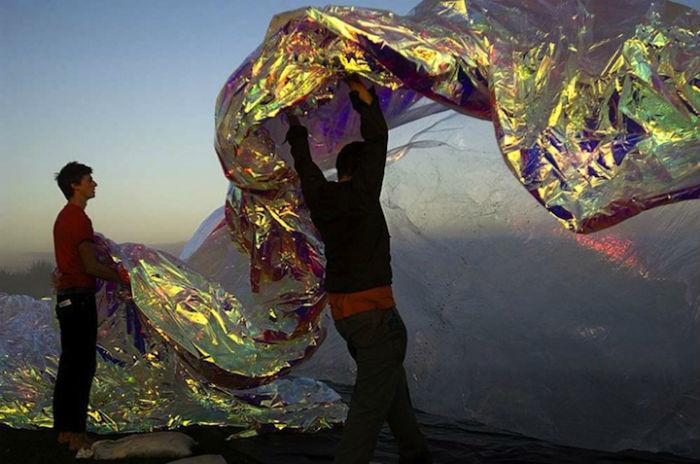 «Poetic Cosmos of the Breath» - интереснейшей экспериментальный проект художника