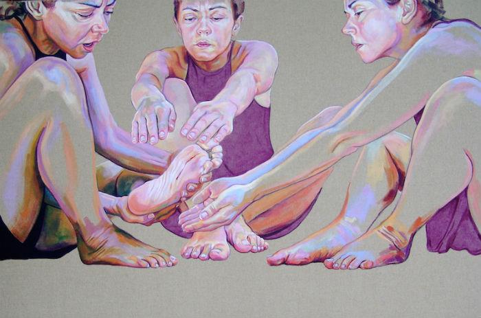 Эмоциональные автопортреты художницы из Португалии