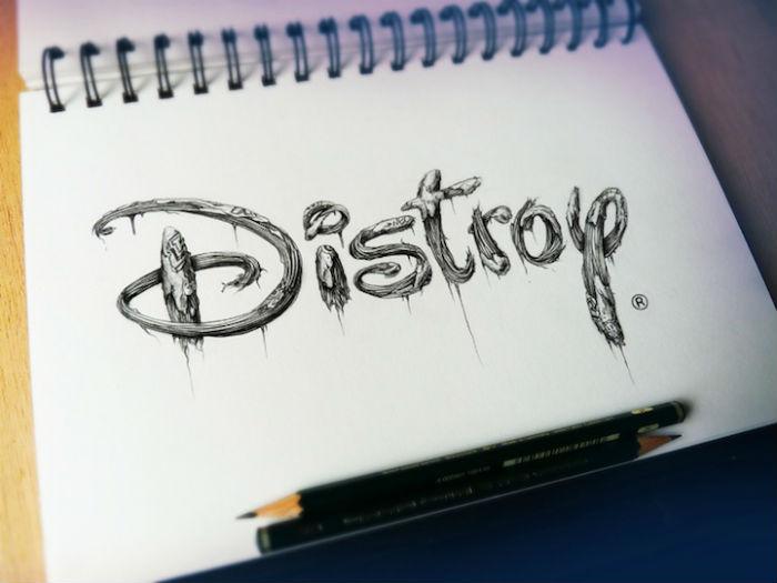 Серия Distroy от французского дизайнера