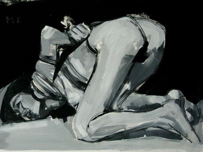 Эмоциональные картины художницы заставляют зрителей сопереживать.