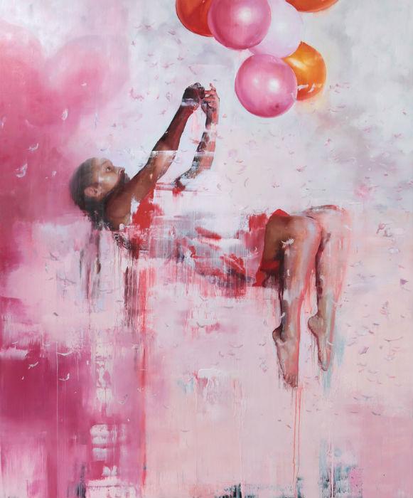 В Лондоне открылась дебютная выставка картин Хлои Ерли