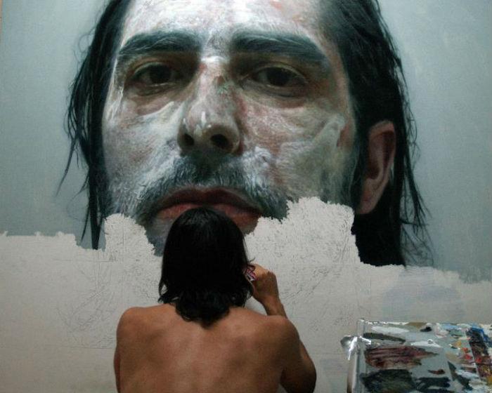 Потрясающие картины Элоя Моралеса