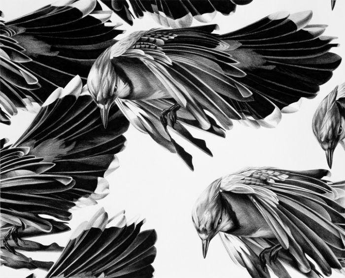Фотореалистичные иллюстрации Эмпедокл пришлись по вкусу искусствоведам и любителям современного искусства