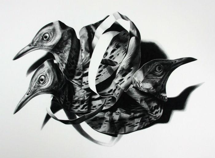 Калифорнийская художница Кристина Эмпедокл (Christina Empedocles) создаёт прекрасные фотореалистичные иллюстрации при помощи восковых карандашей