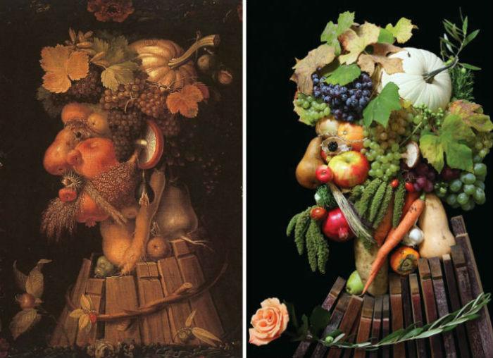 Картина Арчимбольдо и фотография ...: www.kulturologia.ru/blogs/tags/%EA%E0%F0%F2%E8%ED%FB/page/44