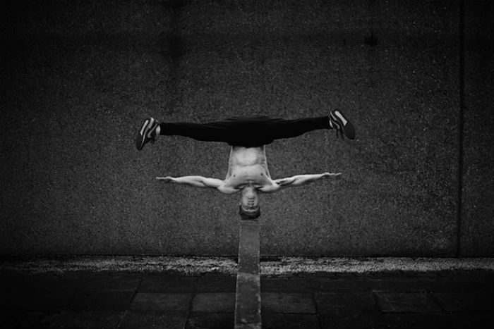 Freerunner: проект английского фотографа