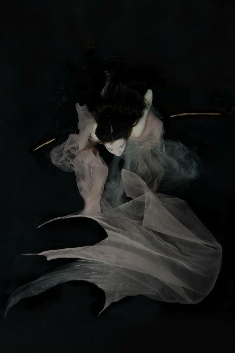 Загадочные девушки в подводной фотосессии Габриэль Виртель