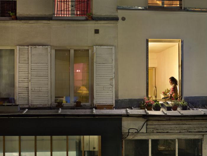 Фотопроект Гейл Халабан о жизни парижан