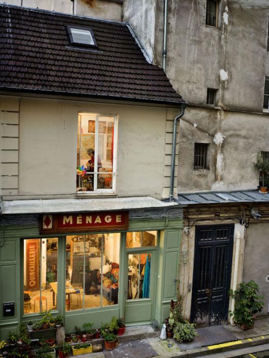 Парижские виды Гейл Халабан в одноимённом проекте