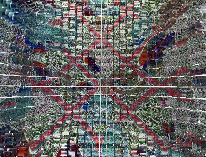 Вингорд-Сакси выбрали для своей инсталляции форму куполообразного павильона, сочетающего в себе элементы архитектуры, дизайна и рисунка