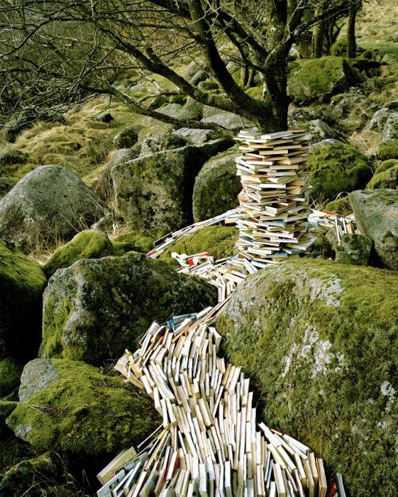 Инсталляции на природе от норвежского художника Руне Гунерюссена