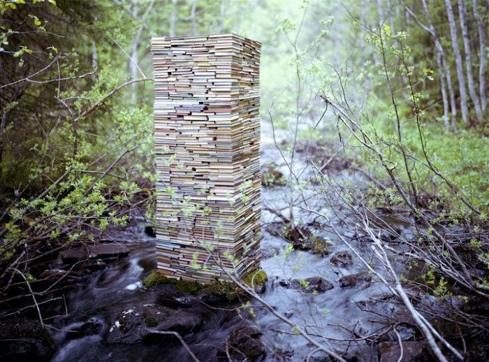 Новые инсталляции на природе от молодого норвежского художника