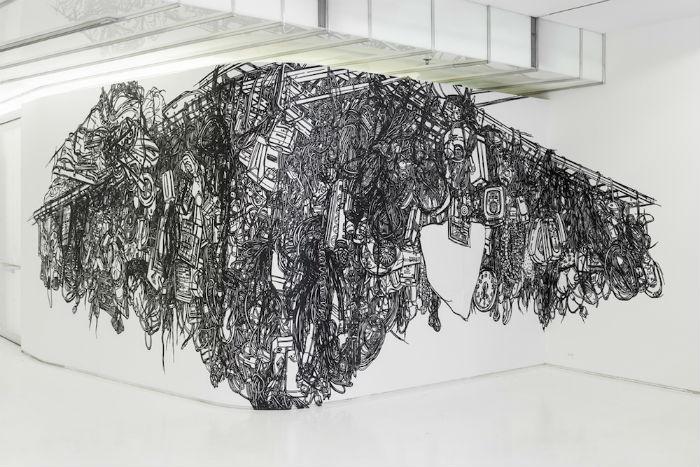 Корейская художница Хисоп Юн  (Heeseop Yoon) — автор интереснейших инсталляций