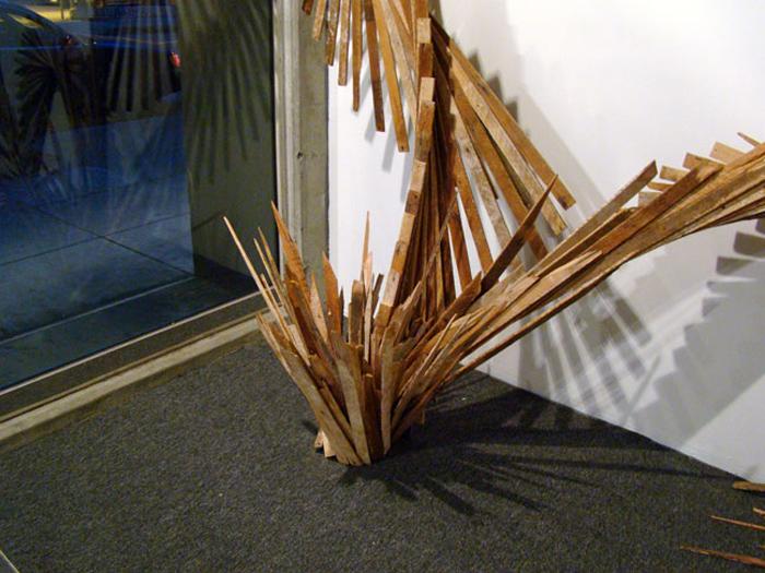 Инсталляция художницы Барбары Холмс