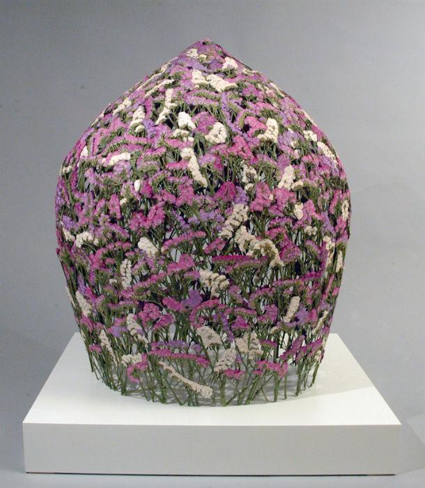 Потрясающие объёмные композиции из сухих растений и цветов