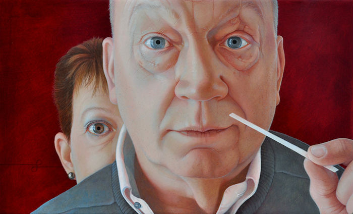 Картины Пеперкамп пронизаны потрясающей энергетикой, возникающей между художницей и моделью