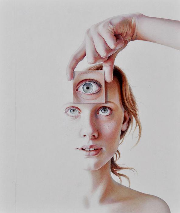 Процесс создания портрета происходит в несколько этапов