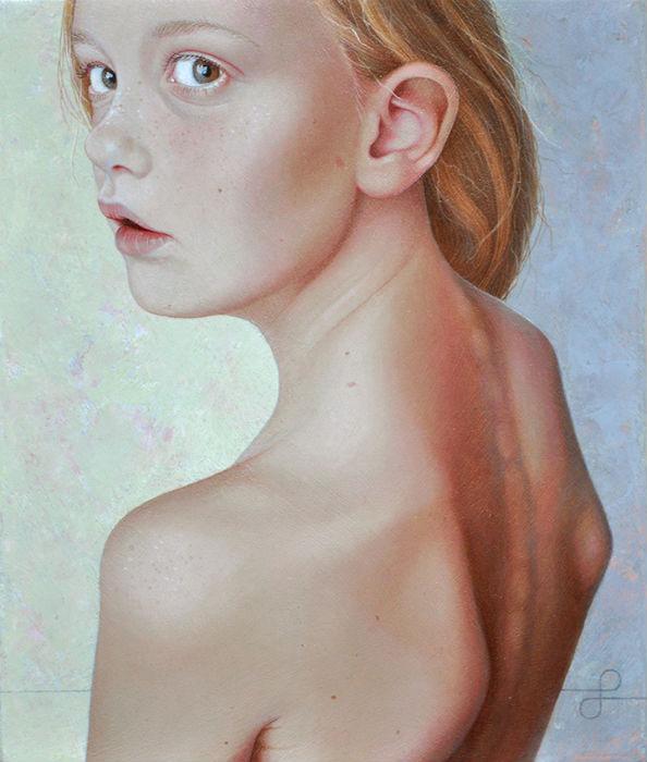 Её картины - яркий пример скрупулёзного и выверенного труда живописца
