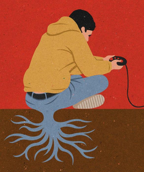 Просто о важном: талантливые иллюстрации Джона Холкрофта