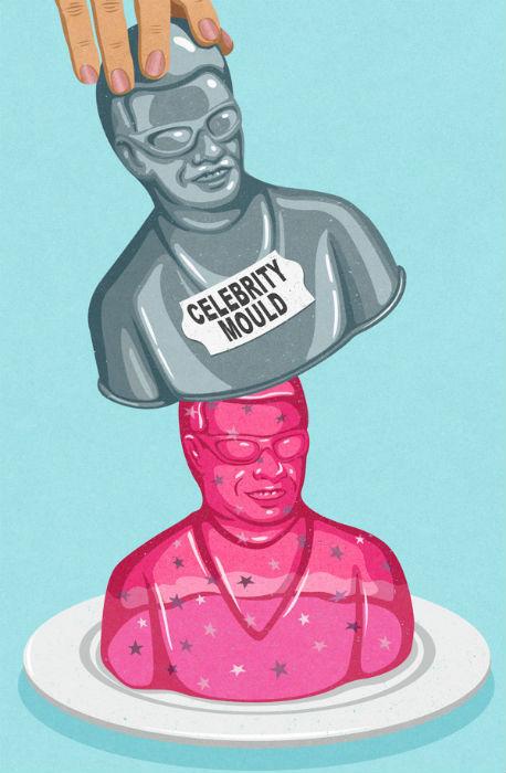 Новоиспеченная знаменитость: иллюстрация Джона Холкрофта