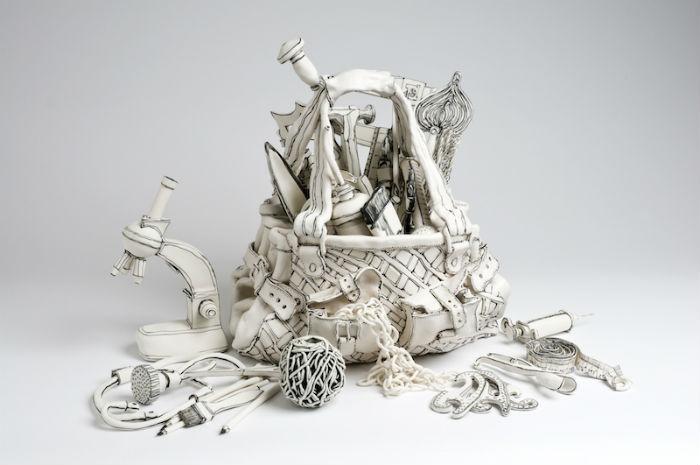 Новые керамические диковинки от британской художницы