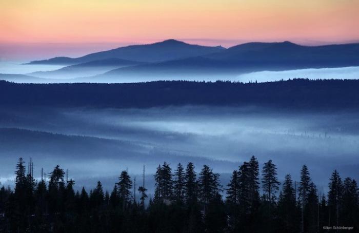 Медитативная красота природы в фотографиях Килиана Шонбергера